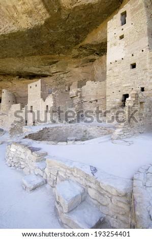 Mesa Verde National Park, Colorado, United States. - stock photo