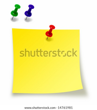 Message card - stock photo
