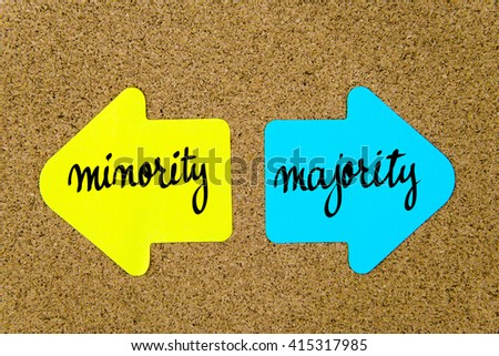 majority vs minorities Full-text paper (pdf): the effects of majority versus minority source status on persuasion: a self-validation analysis.