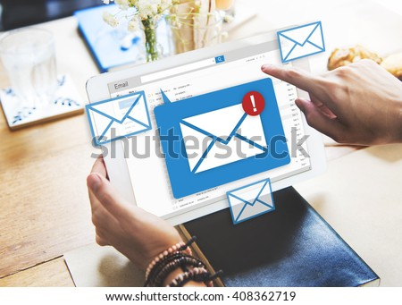 Message Online Chat Social Text Concept - stock photo