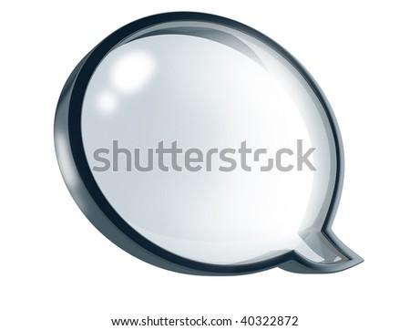 Messenger Window - stock photo
