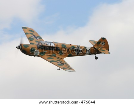 Messerchmitt Bf108 - stock photo