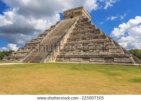 messico yucatan Chich�©n Itz�¡ - stock photo