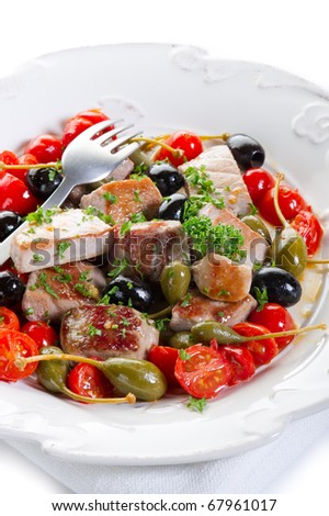 messinese tuna traditional sicily recipe