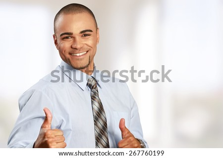 Messy. Untidy Businessman - stock photo