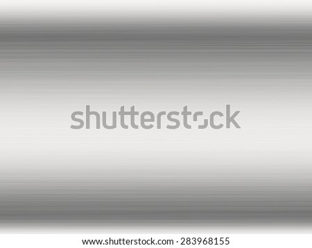 Metal background or texture of brushed steel plate with reflections Iron plate and shiny
