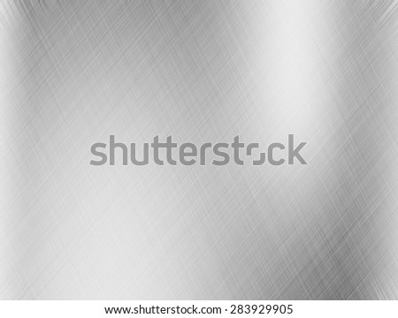 Metal background or texture with reflections Iron plate and shiny