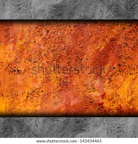 metal background texture old rusty grunge iron rust brown dirty steel metallic material - stock photo