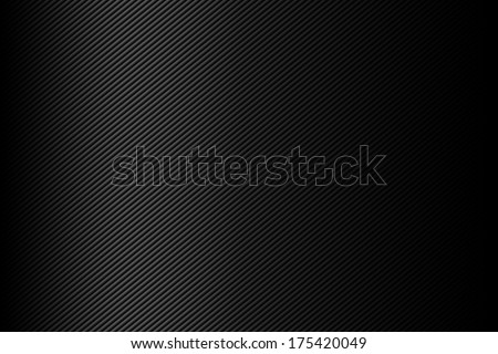 Metal background with lines. - stock photo