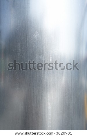 metal background with reflections - stock photo