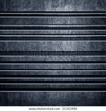 metal bar background - stock photo