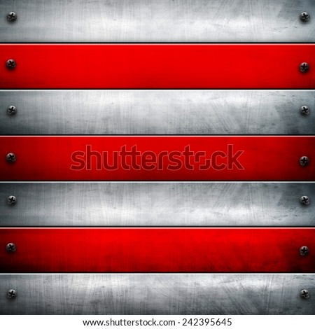 metal bars background  - stock photo