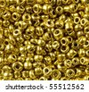 Metal beads high magnification macro - stock photo