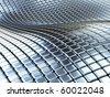 Metal boxes background - stock photo