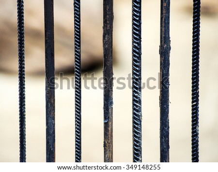 metal cage - stock photo