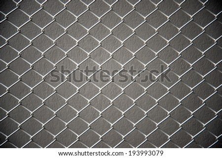 metal cage background - stock photo