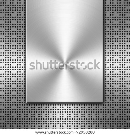 metal chip background