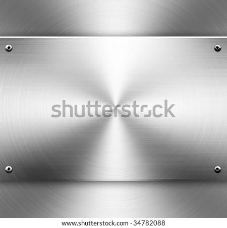 metal circle template - stock photo