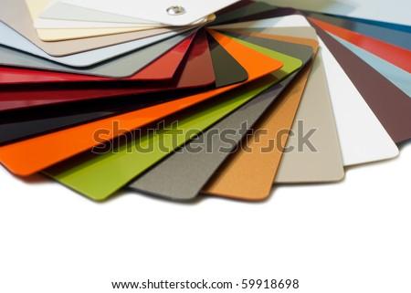 Metal color palette - stock photo