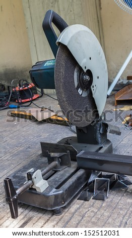 Metal cutting industry - stock photo
