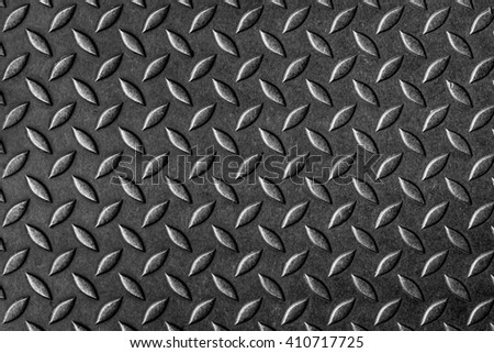 Metal Diamond Plate Texture Abstract Background