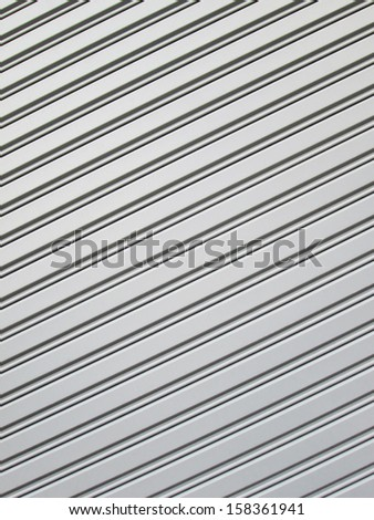 metal door texture - stock photo