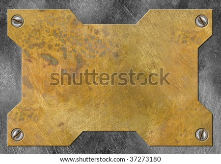 metal frame - stock photo
