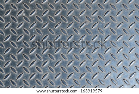 metal grating - stock photo