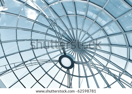 metal gray round ceiling