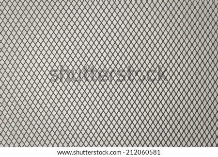 metal grid background - stock photo