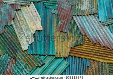 Metal grunge background or texture - stock photo