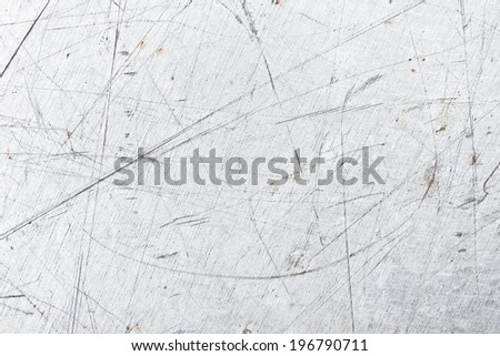 Metal grunge old rusty scratched surface texture  - stock photo