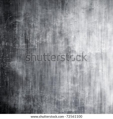 Metal grunge texture - stock photo