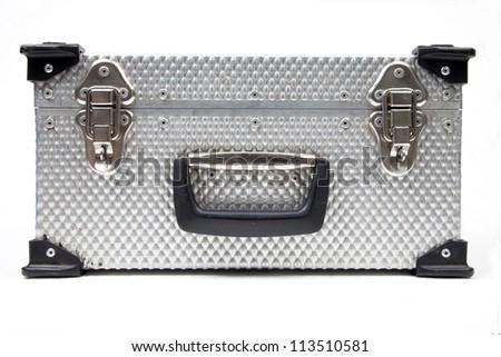 Metal hard case - stock photo