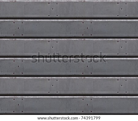 metal jalousie, venetian blind seamless background pattern - stock photo