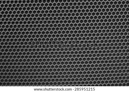 metal mesh of speaker grill texture - stock photo