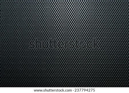Metal mesh texture background with reflections - stock photo