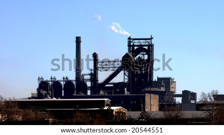 Metal mill - stock photo