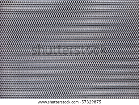 Metal net circle  background. - stock photo