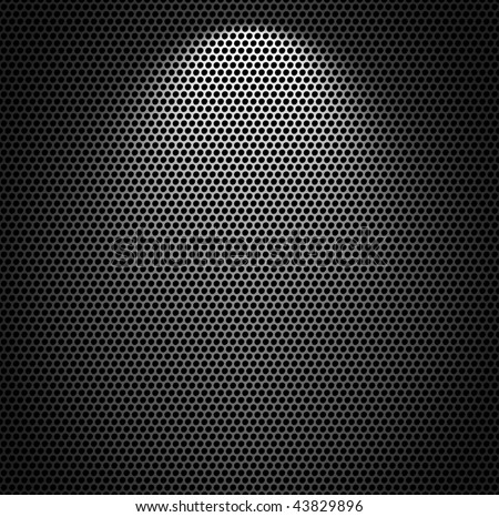 Metal net monochromatic texture background. - stock photo