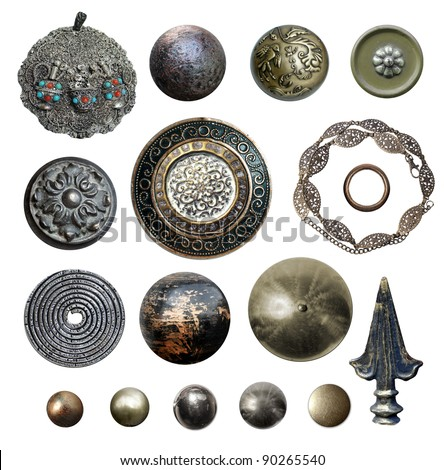 metal objects - stock photo