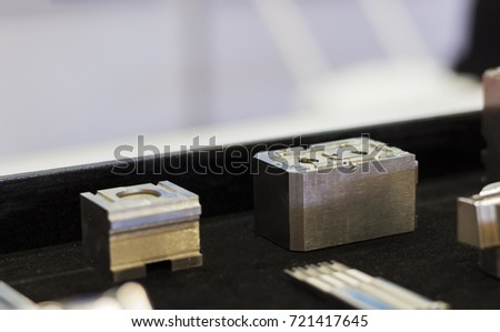 metal parts for  tooling or mold manufacturing ; selective focus