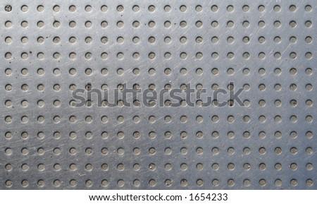Metal pattern - stock photo