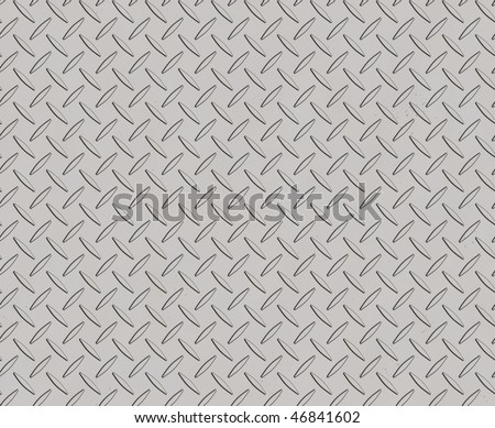 metal plate 13 - stock photo