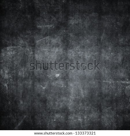 Metal plate background with a grunge effect