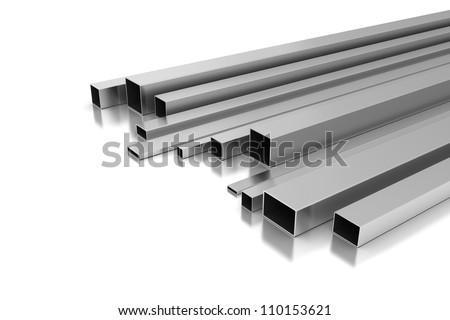 Metal Profile - stock photo