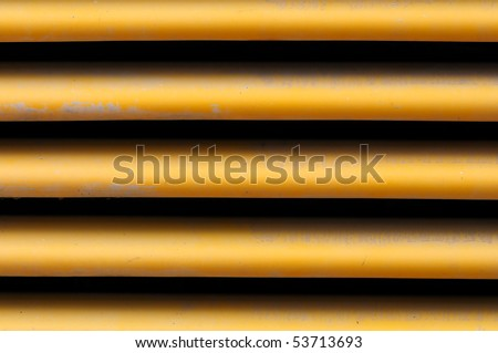 Metal radiator background. Abstract industrial machinery texture.