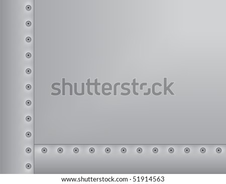 Metal Riveted Background
