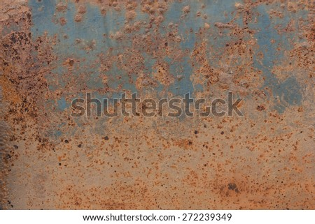 metal rust background with space for text or image - stock photo