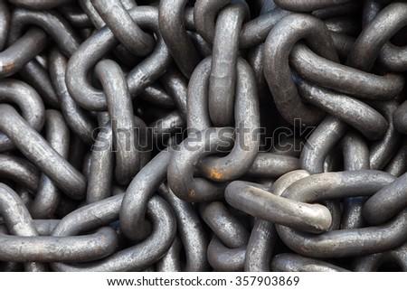 Metal rust chain heap texture industrial abstract background. Background. Backgrounds. Texture  - stock photo